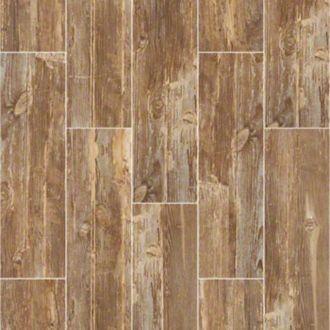 Wood Look Ceramic Dodge City Fencepost 7 W X 24 L