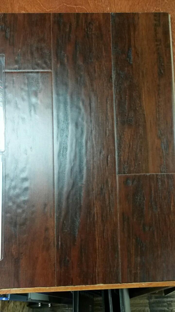 Distressed Maple-Cinnamon