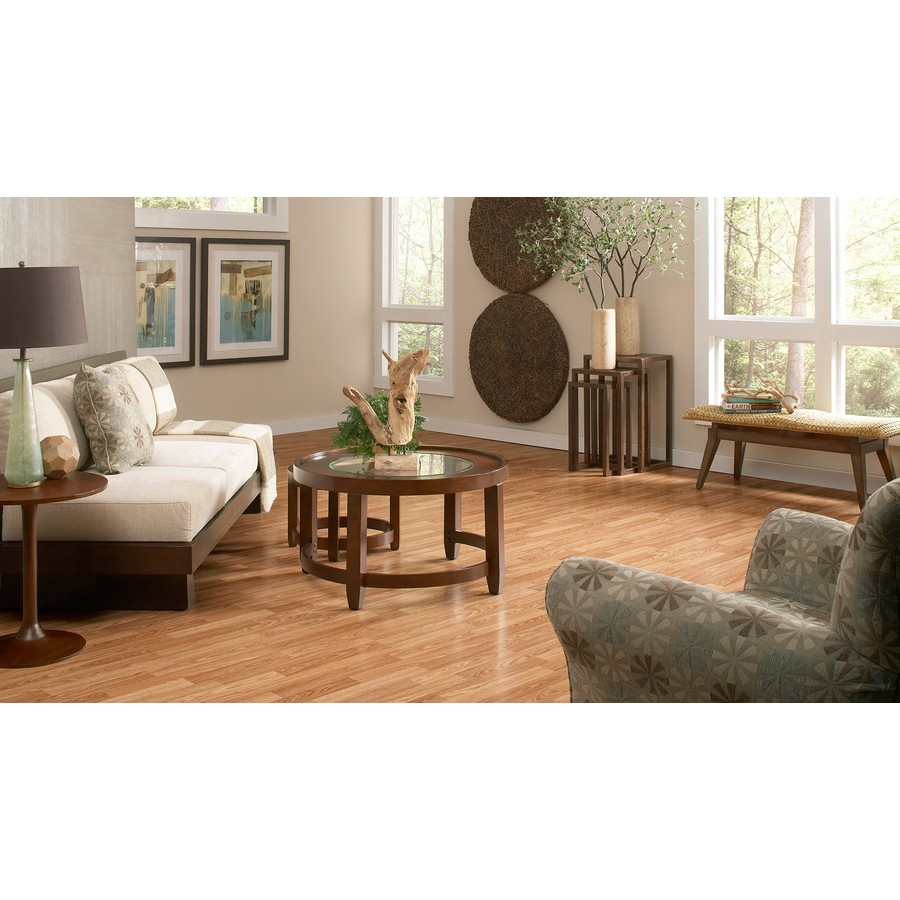 Laminates Project Source Natural Oak, Project Source Natural Oak Laminate Flooring
