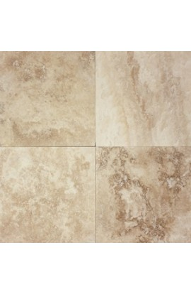 TRAVERTINE 12 HONED & FILLED HAMPTON BLEND DARK