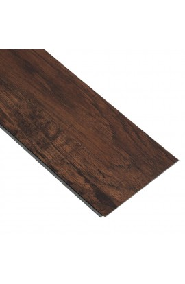 HOME DECORATORS CLICK 6X36 4.2 MM 8 MIL JAVA HICKORY